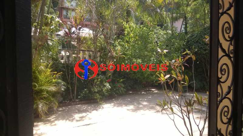 21 - Casa à venda Rua Marechal Pires Ferreira,Cosme Velho, Rio de Janeiro - R$ 8.500.000 - LBCA40031 - 19