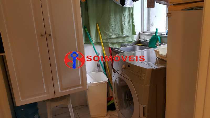 Cozinha e Lavanderia 1 - Apartamento 3 quartos à venda São Conrado, Rio de Janeiro - R$ 820.000 - LBAP31670 - 16