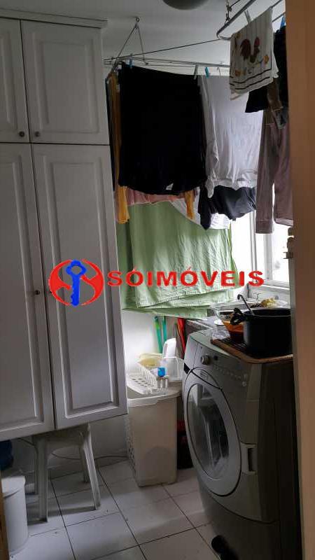 Cozinha e Lavanderia 6 - Apartamento 3 quartos à venda São Conrado, Rio de Janeiro - R$ 820.000 - LBAP31670 - 21