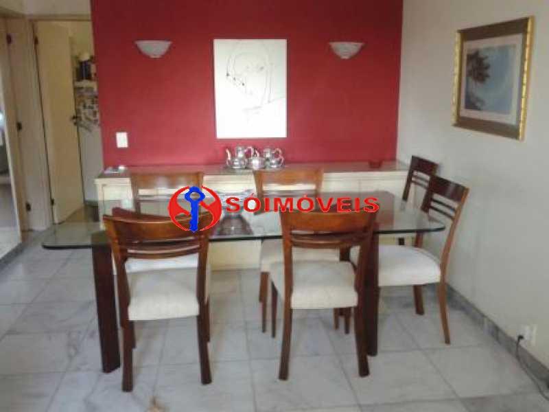sala de jantar - Apartamento 3 quartos à venda São Conrado, Rio de Janeiro - R$ 820.000 - LBAP31670 - 22