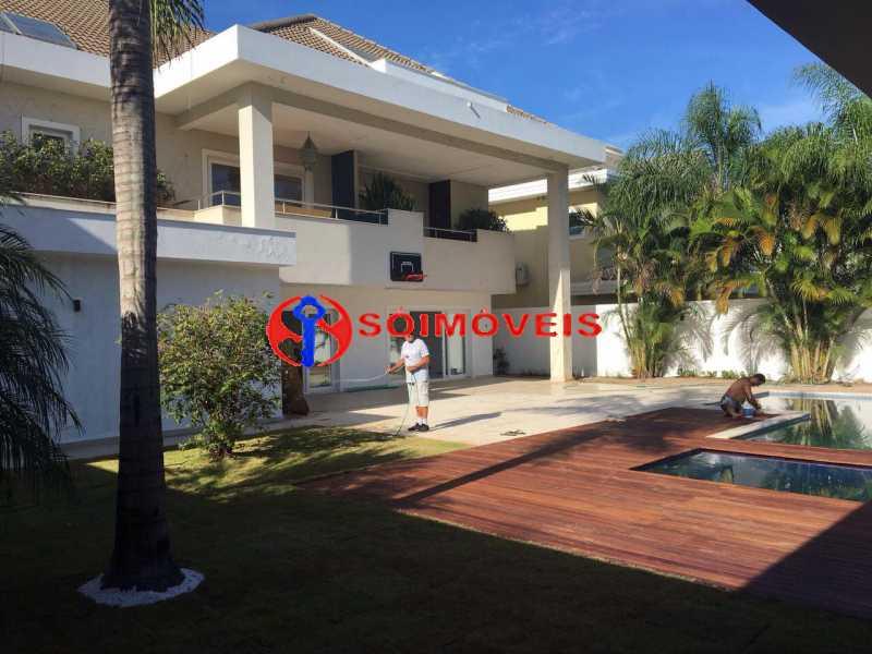 casa - Casa em Condomínio 5 quartos à venda Barra da Tijuca, Rio de Janeiro - R$ 5.800.000 - LBCN50015 - 1