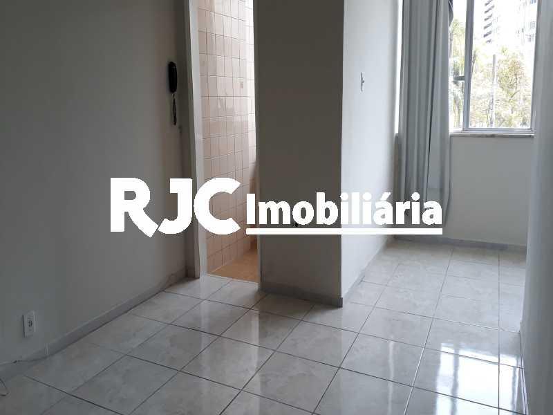 4   Sala - Apartamento 1 quarto à venda Tijuca, Rio de Janeiro - R$ 297.000 - MBAP10818 - 5