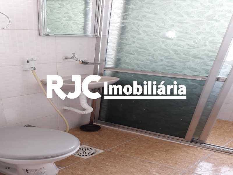 12 Banheiro Social - Apartamento 1 quarto à venda Tijuca, Rio de Janeiro - R$ 297.000 - MBAP10818 - 13