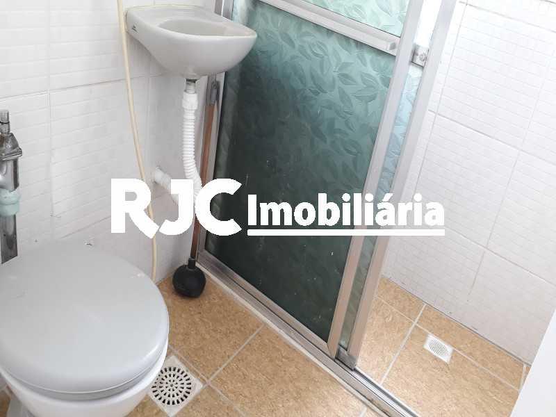13 Banheiro Social - Apartamento 1 quarto à venda Tijuca, Rio de Janeiro - R$ 297.000 - MBAP10818 - 14