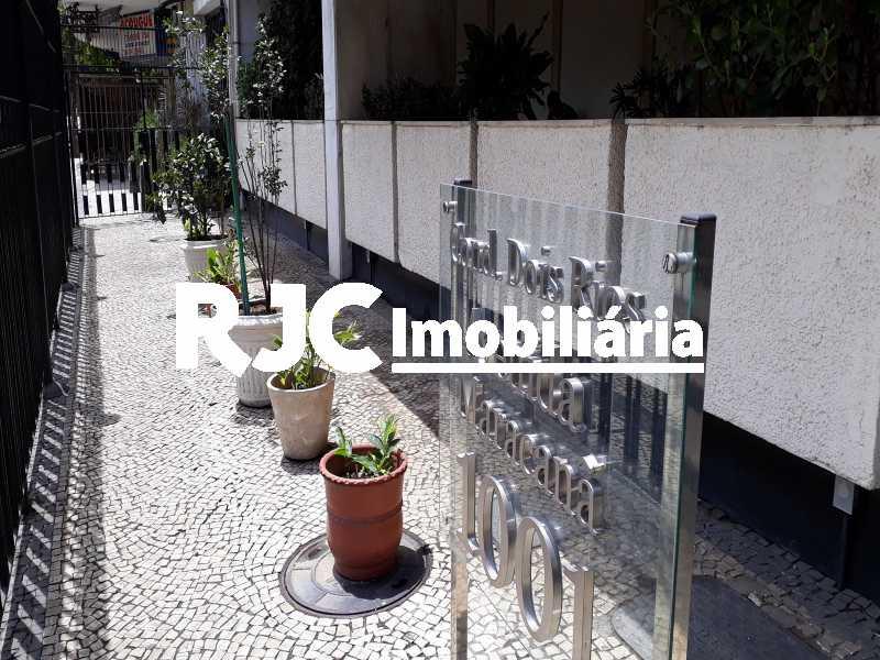 17     Entrada Social - Apartamento 1 quarto à venda Tijuca, Rio de Janeiro - R$ 297.000 - MBAP10818 - 18