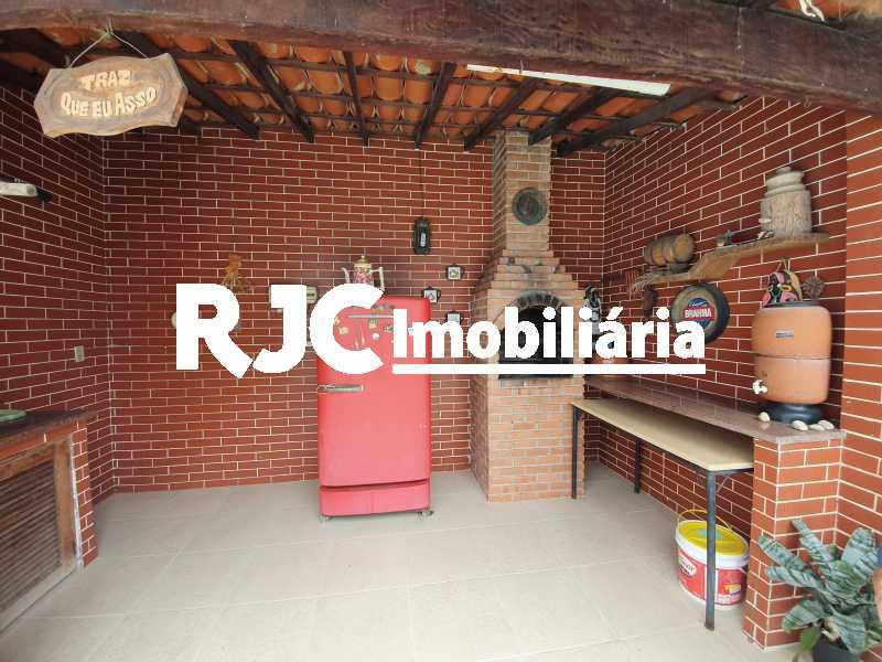 2 churrasqueira - Casa 5 quartos à venda Grajaú, Rio de Janeiro - R$ 1.680.000 - MBCA50078 - 24
