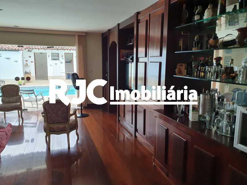 4 salao - Casa 5 quartos à venda Grajaú, Rio de Janeiro - R$ 1.680.000 - MBCA50078 - 1