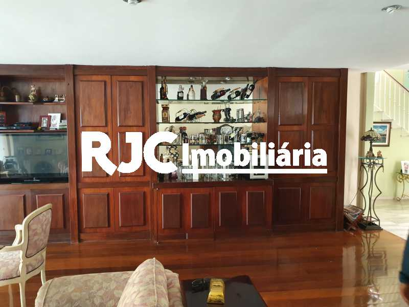 5 sala - Casa 5 quartos à venda Grajaú, Rio de Janeiro - R$ 1.680.000 - MBCA50078 - 4
