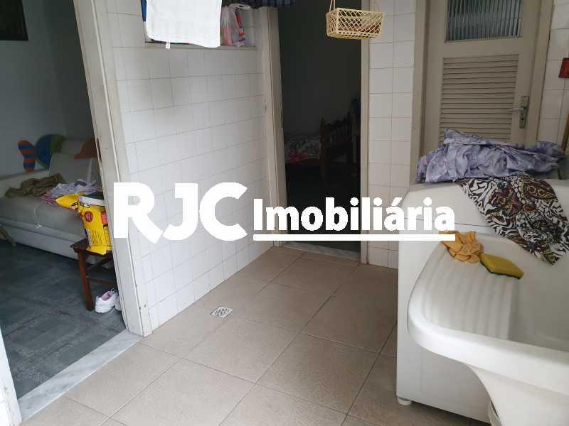 8 lavanderia - Casa 5 quartos à venda Grajaú, Rio de Janeiro - R$ 1.680.000 - MBCA50078 - 21