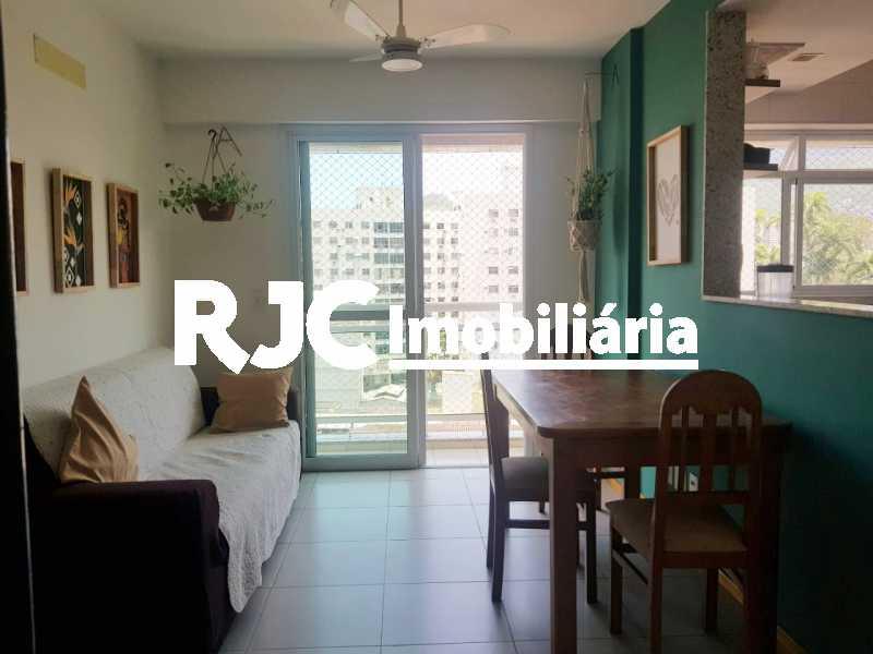 1   Sala. - Cobertura 3 quartos à venda Praça da Bandeira, Rio de Janeiro - R$ 920.000 - MBCO30340 - 1