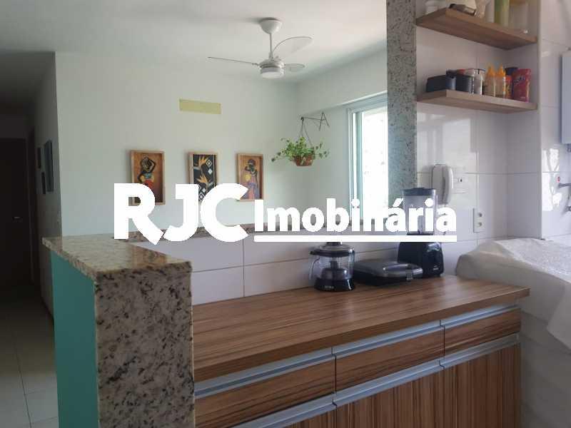 11   Cozinha. - Cobertura 3 quartos à venda Praça da Bandeira, Rio de Janeiro - R$ 920.000 - MBCO30340 - 13