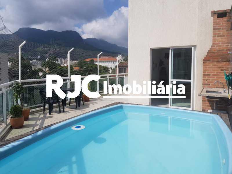 12..    Piscina Cobertura. - Cobertura 3 quartos à venda Praça da Bandeira, Rio de Janeiro - R$ 920.000 - MBCO30340 - 15