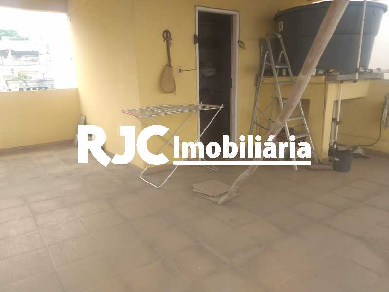 17 - Casa de Vila 3 quartos à venda Engenho de Dentro, Rio de Janeiro - R$ 430.000 - MBCV30145 - 18