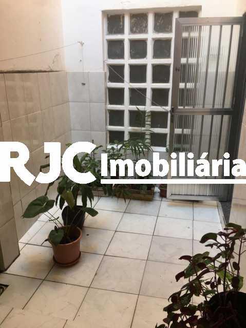 5 AREA EXTERNA. - Apartamento 2 quartos à venda Praça da Bandeira, Rio de Janeiro - R$ 380.000 - MBAP24803 - 6