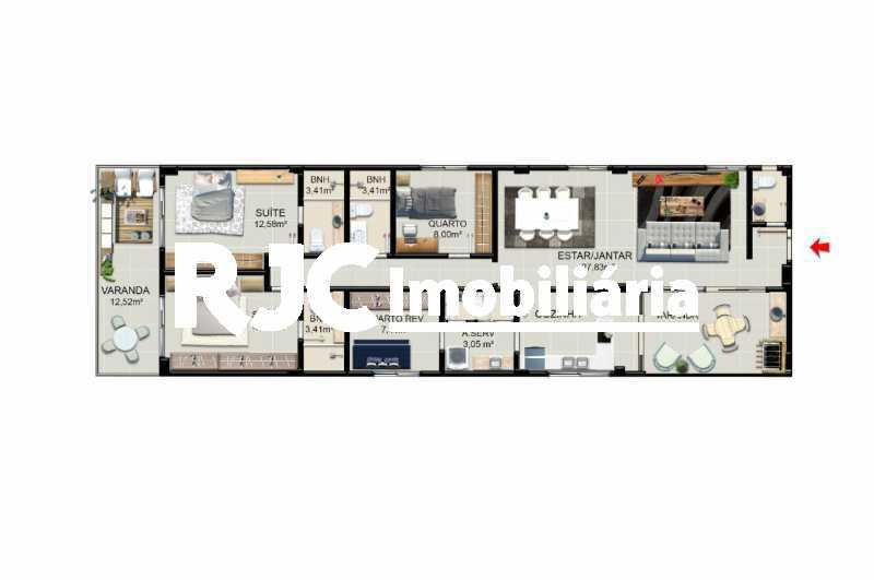 WhatsApp Image 2020-06-18 at 1 - Apartamento 4 quartos à venda Jardim Guanabara, Rio de Janeiro - R$ 994.314 - MBAP40449 - 18