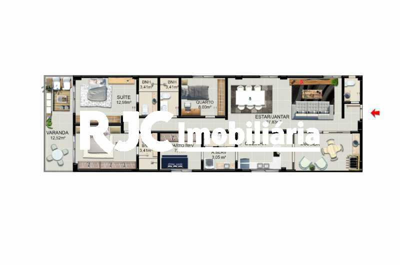 WhatsApp Image 2020-06-18 at 1 - Apartamento 4 quartos à venda Jardim Guanabara, Rio de Janeiro - R$ 846.880 - MBAP40451 - 18