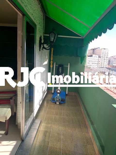 7 - Cobertura 3 quartos à venda Praça da Bandeira, Rio de Janeiro - R$ 600.000 - MBCO30346 - 8