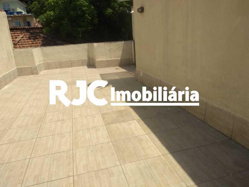 WhatsApp Image 2020-10-02 at 2 - Casa de Vila 3 quartos à venda Riachuelo, Rio de Janeiro - R$ 320.000 - MBCV30158 - 1