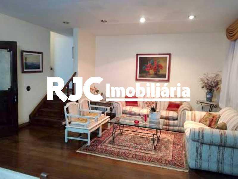 1 - Casa 4 quartos à venda Grajaú, Rio de Janeiro - R$ 950.000 - MBCA40179 - 1
