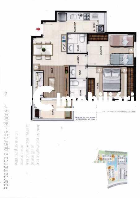 0001 - Apartamento 2 quartos à venda Taquara, Rio de Janeiro - R$ 420.000 - MBAP25164 - 28