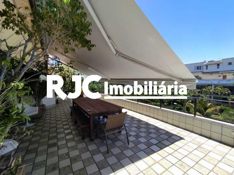 1. - Cobertura 4 quartos à venda Barra da Tijuca, Rio de Janeiro - R$ 3.450.000 - MBCO40131 - 1