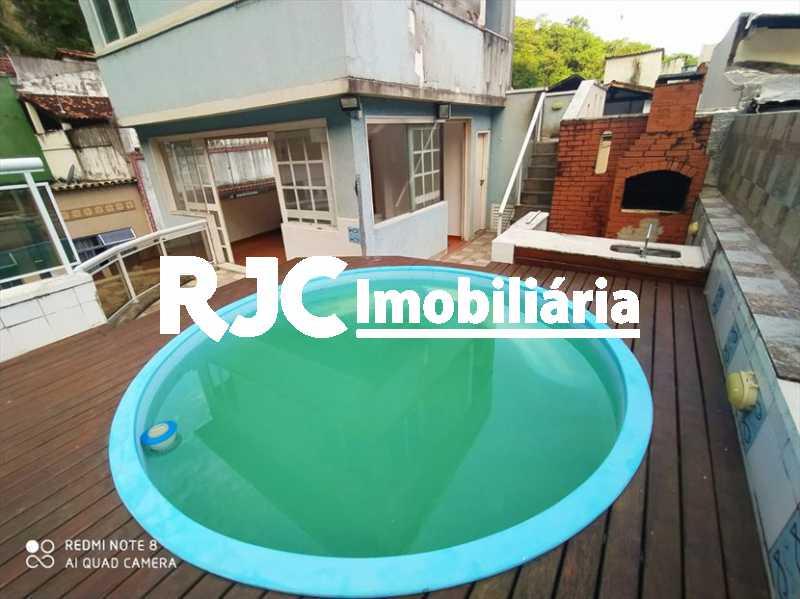 1 - Casa em Condomínio 3 quartos à venda Vila Isabel, Rio de Janeiro - R$ 900.000 - MBCN30032 - 1