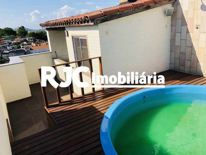 21. - Cobertura 3 quartos à venda Maracanã, Rio de Janeiro - R$ 650.000 - MBCO30387 - 22