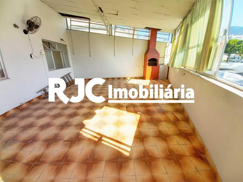 1 - Cobertura 2 quartos à venda Praça da Bandeira, Rio de Janeiro - R$ 550.000 - MBCO20176 - 1