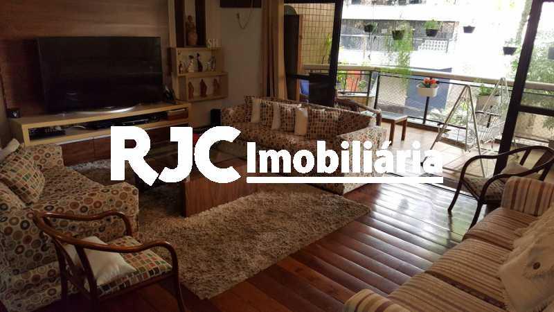 1 - Apartamento 4 quartos à venda Laranjeiras, Rio de Janeiro - R$ 1.990.000 - MBAP40496 - 1