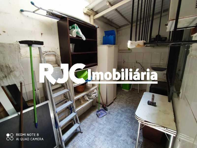 18 Area Extª. - Casa de Vila 2 quartos à venda Tijuca, Rio de Janeiro - R$ 480.000 - MBCV20103 - 19