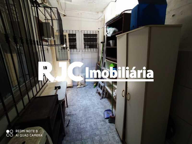 19 Area Extª. - Casa de Vila 2 quartos à venda Tijuca, Rio de Janeiro - R$ 480.000 - MBCV20103 - 20