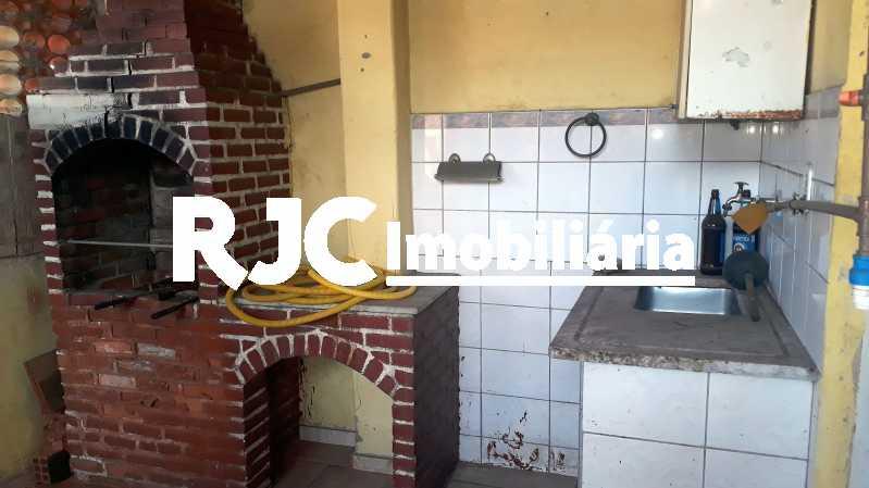 18 Churrasqueira - Casa de Vila 2 quartos à venda Lins de Vasconcelos, Rio de Janeiro - R$ 320.000 - MBCV20108 - 16