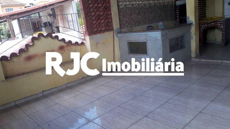 18.  Terraço - Casa de Vila 2 quartos à venda Lins de Vasconcelos, Rio de Janeiro - R$ 320.000 - MBCV20108 - 17
