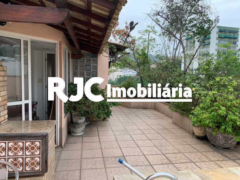 01 - Cobertura 3 quartos à venda Laranjeiras, Rio de Janeiro - R$ 1.600.000 - MBCO30396 - 1