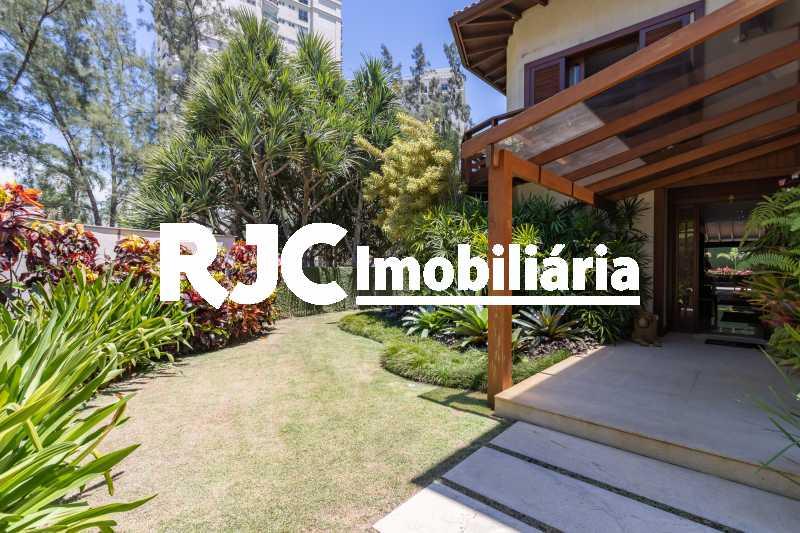 Casa no Malibu - 03 - Casa em Condomínio 4 quartos à venda Barra da Tijuca, Rio de Janeiro - R$ 12.000.000 - MBCN40017 - 3