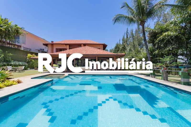 Casa no Malibu - 07 - Casa em Condomínio 4 quartos à venda Barra da Tijuca, Rio de Janeiro - R$ 12.000.000 - MBCN40017 - 5