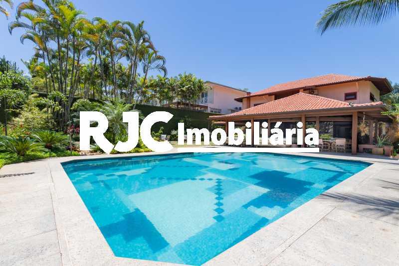 Casa no Malibu - 08 - Casa em Condomínio 4 quartos à venda Barra da Tijuca, Rio de Janeiro - R$ 12.000.000 - MBCN40017 - 6