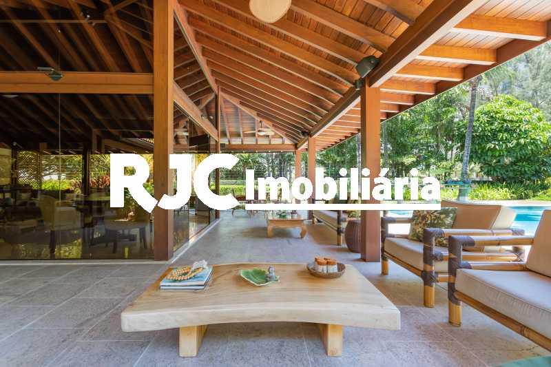 Casa no Malibu - 12 - Casa em Condomínio 4 quartos à venda Barra da Tijuca, Rio de Janeiro - R$ 12.000.000 - MBCN40017 - 9