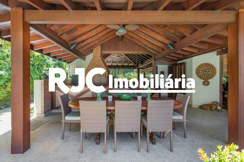 Casa no Malibu - 15 - Casa em Condomínio 4 quartos à venda Barra da Tijuca, Rio de Janeiro - R$ 12.000.000 - MBCN40017 - 12