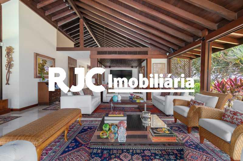 Casa no Malibu - 19 - Casa em Condomínio 4 quartos à venda Barra da Tijuca, Rio de Janeiro - R$ 12.000.000 - MBCN40017 - 16