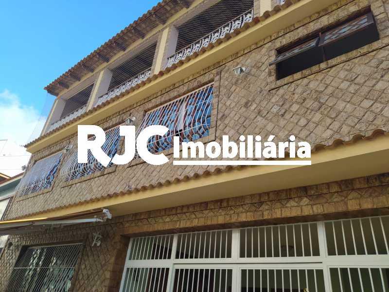 1 FRENTE DA CASA. - Casa de Vila 4 quartos à venda Maracanã, Rio de Janeiro - R$ 1.930.000 - MBCV40070 - 1