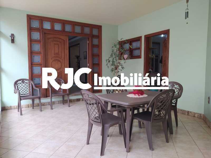 2 VARANDA 1º PISO. - Casa de Vila 4 quartos à venda Maracanã, Rio de Janeiro - R$ 1.930.000 - MBCV40070 - 3