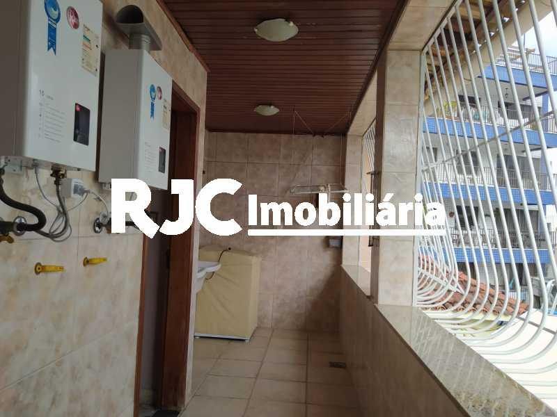 24 AREA DE SERVIÇO 3º PISO. - Casa de Vila 4 quartos à venda Maracanã, Rio de Janeiro - R$ 1.930.000 - MBCV40070 - 25