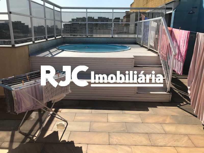 15 - Cobertura 4 quartos à venda Tijuca, Rio de Janeiro - R$ 1.250.000 - MBCO40142 - 15