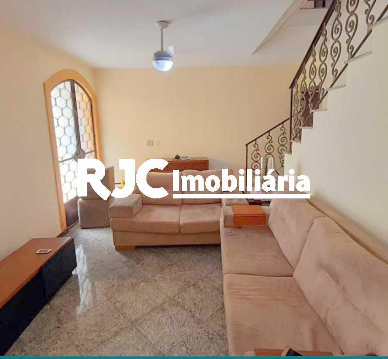 1 - Casa de Vila 3 quartos à venda Grajaú, Rio de Janeiro - R$ 655.000 - MBCV30171 - 1