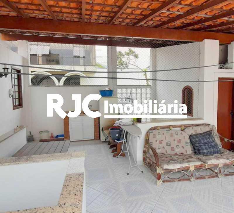 15 - Casa de Vila 3 quartos à venda Grajaú, Rio de Janeiro - R$ 655.000 - MBCV30171 - 18