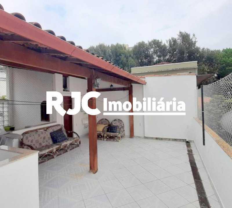 16 - Casa de Vila 3 quartos à venda Grajaú, Rio de Janeiro - R$ 655.000 - MBCV30171 - 19