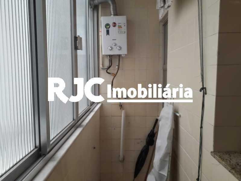 15 área - Apartamento à venda Rua Barão de São Francisco,Andaraí, Rio de Janeiro - R$ 280.000 - MBAP10998 - 16