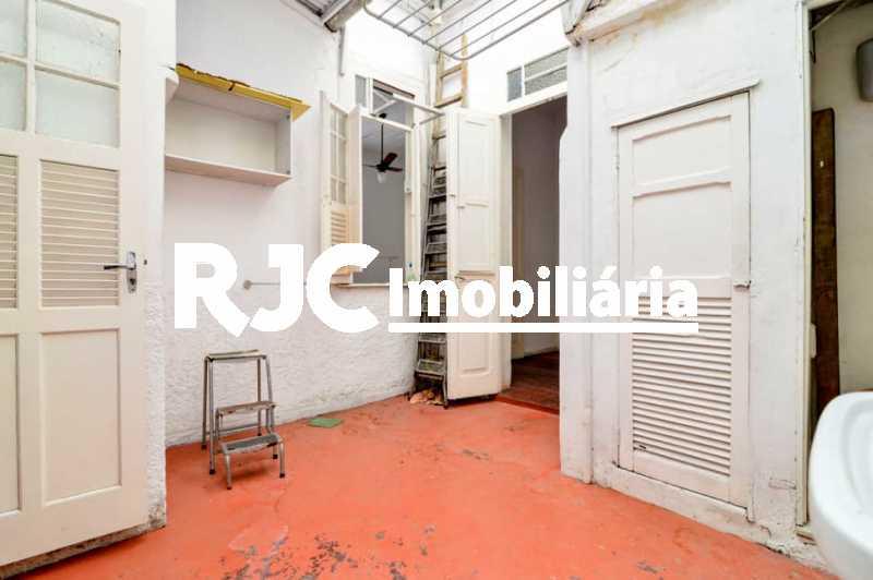 21 - Casa de Vila à venda Rua Mariz e Barros,Tijuca, Rio de Janeiro - R$ 420.000 - MBCV20114 - 22