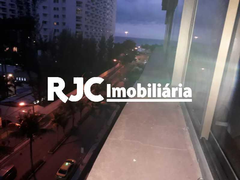 1 - Apartamento à venda Avenida Lúcio Costa,Barra da Tijuca, Rio de Janeiro - R$ 1.150.000 - MBAP25606 - 1